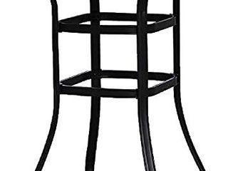 39  Wrought Iron Glass High Bar Table Patio Bar Table  Retail 103 99