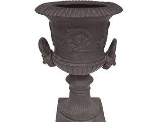 Adonis Roman Botanical lightweight Concrete Chalice Garden Urn Planter by Christopher Knight Home  Retail 141 49