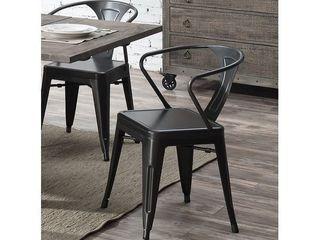 Carbon loft Uglem Industrial Dining Chair  Set of 2  Retail 110 49