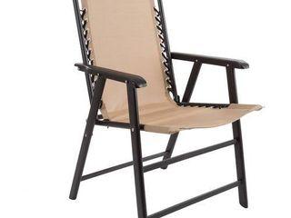 Pure Garden Suspension Folding Chair