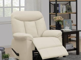 Copper Grove Houffalize Almond PU Wall Hugger Recliner Chair  Retail 393 99