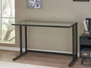 Eghan Glass Computer Desk by Christopher Knight Home   Retail 136 49
