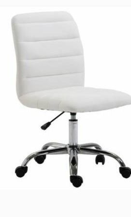 EdgeMod Polox Height adjustable Faux leather Swivel Task Chair  Retail 83 99