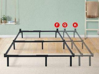 Sleeplanner Dura Metal Compact Adjustable Steel Bed Frame For Full Queen King  Retail 79 98