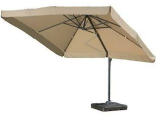 Outdoor Merida 9 8 foot Canopy Umbrella by Christopher Knight Home  Retail 496 99