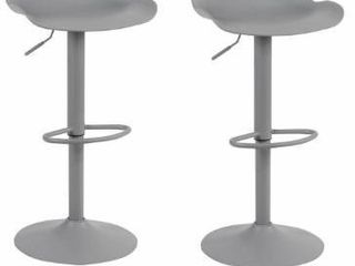 Adjustable Height Solid Color Monochromatic Bar Stool   N A  Retail 146 02
