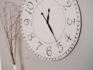 Oversized Farm house Wall Clock 36 in