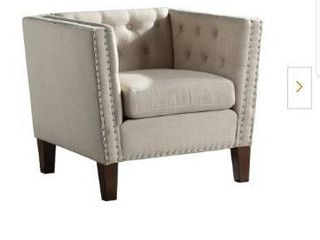 Campbell Sand Accent Chair by Steve Silver