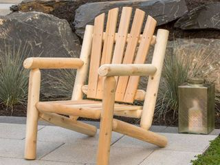 Bestar White Cedar Arm Chair  Retail 179 99