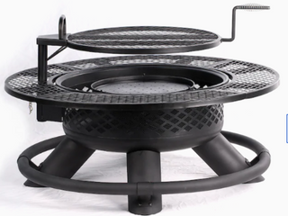 Bighorn Ranch Fire Pit  796740 47 2in x 47 2in x 33 5in