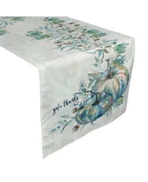 laural Home Cool Autumn Table Runner   72  x 13