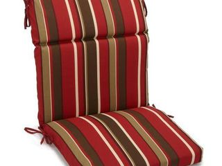 Blazing Needles 20  X 42  Indoor Outdoor Sectioned Chair Cushion