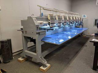 Highland Automatic 15 Needle Multi Head Embroidery Machine HM 1508
