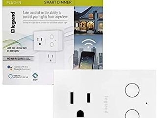 legrand Smart Plug in Dimmer White Wi Fi Wwp20ccv2