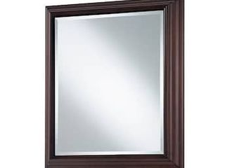 Style Selections 22 5 in x 27 5 in Rectangle Surface Mirrored Medicine Cabinet