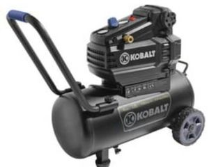 Kobalt 1 8 HP 8 Gallon 150 PSI Electric Air Compressor Blue