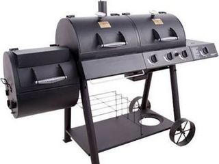 Char Broil Oklahoma Joe s Charcoal Gas Smoker Combo
