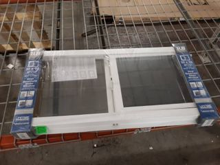 Reliabilt 32 x16  Vinyl Basement Slider Window