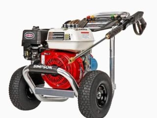 Simpson Pro Series Ps61044 Honda Gs190 Engine 3400psi Gas Pressure Washer Retail   699