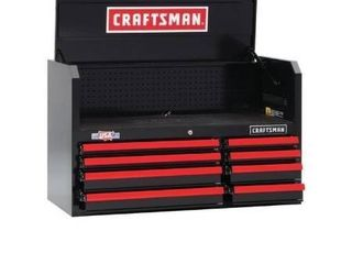 Craftsman 41  Wide 8 Drawer Tool Cabinet Retail   449 00
