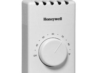 Honeywell Thermostats Manual Electric Baseboard Thermostat Whites CT410B