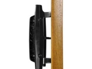 Wright Products V1131Bl MORTISE PATIO DOOR HANDlES ONlY  BlACK 3 15 16  C2C