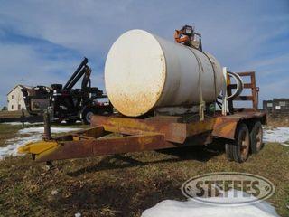Shop built bumper hitch tandem axle trailer 1 jpg
