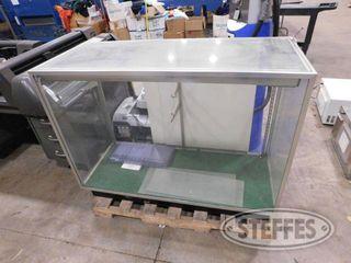 Glass Retail Display Case 4 W x 22 D x 38 T 2 jpg