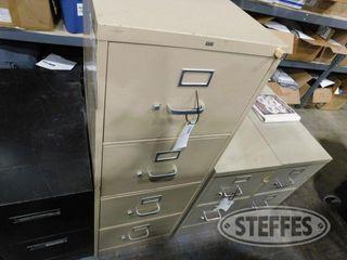 HON 4 Drawer Filing Cabinet Beige 2 jpg