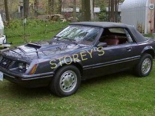 1984 MGl Mustang Convertible   168 000kms