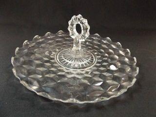 American Fostoria Style Platter
