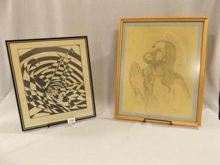 Dietrich Nelson Art  Framed  2