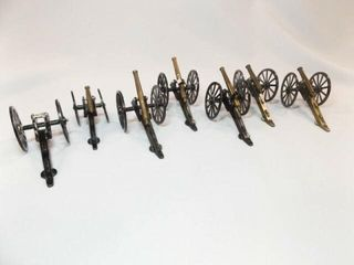 Metal Display Cannons  7  made in Japan