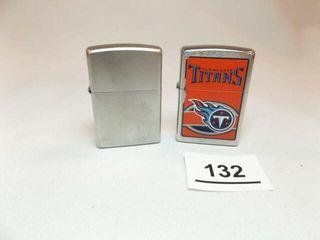 Zippo lighters  2  Titans