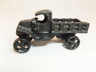 Cast Iron Black Truck  41 2