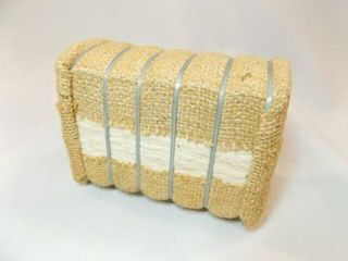 Cotton Bale in Burlap  5