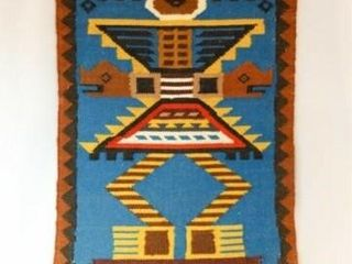 Native American Style Tapestry  39  x 221 2