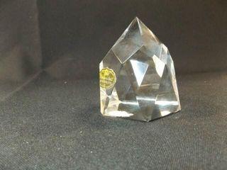GH Echt Bleikristall Glass Paperweight