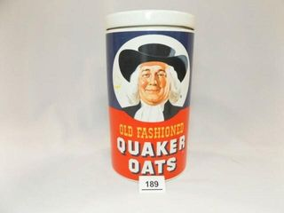 Quaker Oats Ceramic Cookie Jar  10
