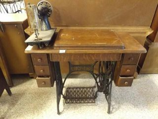 Singer Sewing Machine  Wood Stand