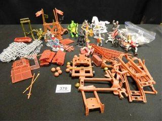 Medieval Plastic Figures Set