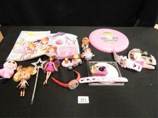 Hannah Montana  Winx  Toy Figures