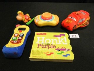 V Tech Toy Phone  Baby Genius