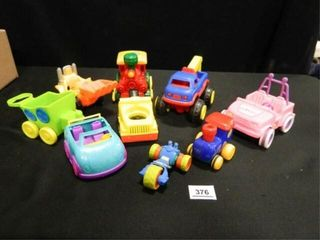 Toy Vehicles  Assorted   9