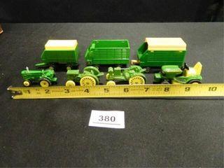 John Deere Miniature Tractors  3