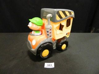 Toy Truck w Driver  Shelcore  2006