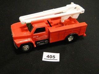 Ertl OG E Truck Bank w key