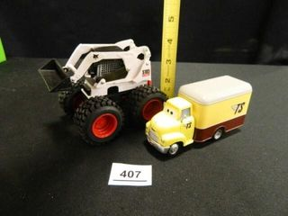 Disney Pixar Toy Truck  Bobcat