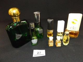 Perfume   Cologne  9  most with contents
