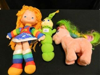 Rainbow Bright  Gloworm  c 1982